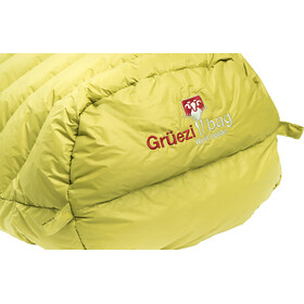 Grüezi-Bag Biopod DownWool Extreme Light 200 Sac de couchage, warm olive